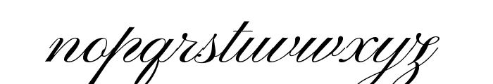 PinyonScript Font LOWERCASE