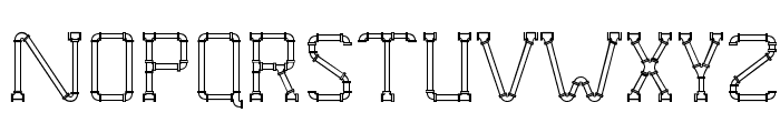 Pipe Dream Font UPPERCASE