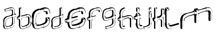 Piperalpha Font UPPERCASE
