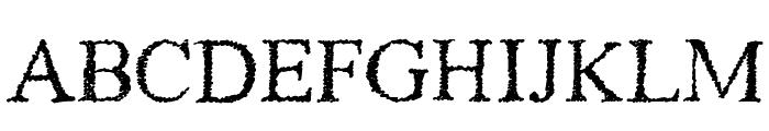 Piracy Font UPPERCASE