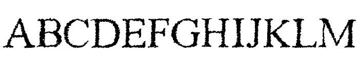 Piracy Font LOWERCASE