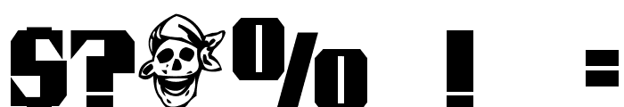 Pirate Keg Font OTHER CHARS