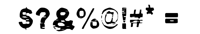 Pirate Style Font OTHER CHARS