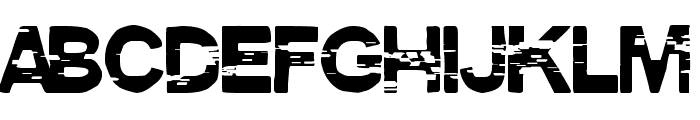 Pirate Style Font LOWERCASE