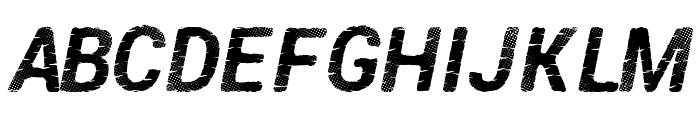 PirateDisco Font UPPERCASE