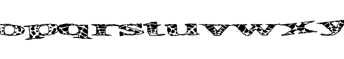 PirateSpider Font LOWERCASE