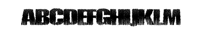 PirateZombie Font UPPERCASE