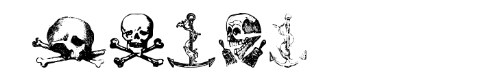 Pirates Two Font OTHER CHARS