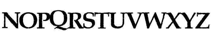 PiratesBay Font UPPERCASE