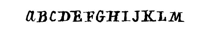 PiratiquaVertical Font UPPERCASE