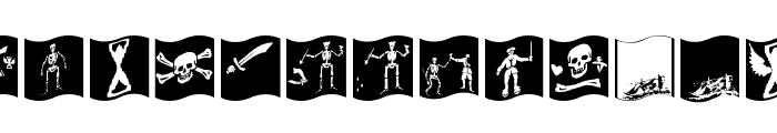 PiratsSymbolsArtefacts Font UPPERCASE