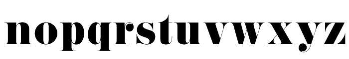 Pistilli Font LOWERCASE