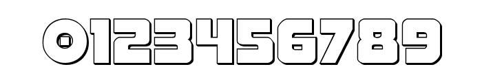 Pistoleer 3D Regular Font OTHER CHARS