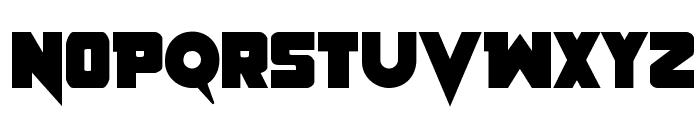 Pistoleer Bold Font UPPERCASE