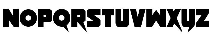 Pistoleer Bold Font LOWERCASE