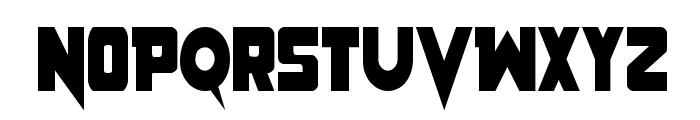 Pistoleer Condensed Font UPPERCASE