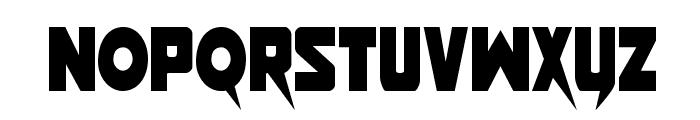 Pistoleer Condensed Font LOWERCASE