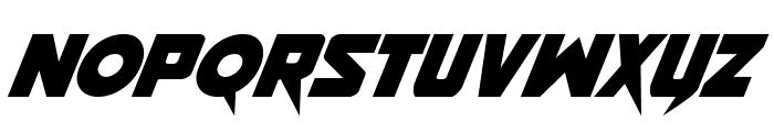 Pistoleer Italic Font LOWERCASE