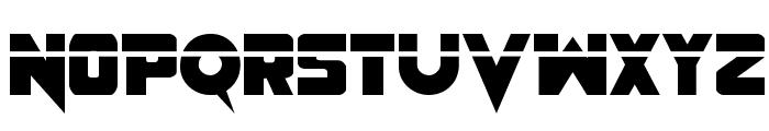 Pistoleer Laser Regular Font UPPERCASE