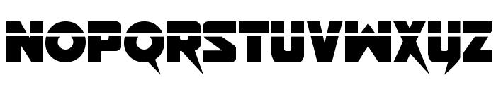 Pistoleer Laser Regular Font LOWERCASE
