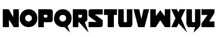 Pistoleer Regular Font LOWERCASE