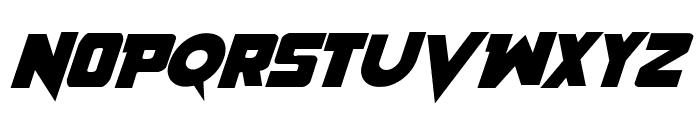 Pistoleer Rotalic Font UPPERCASE