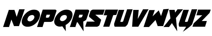 Pistoleer Rotalic Font LOWERCASE