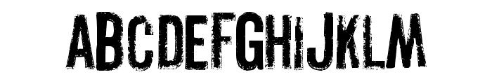 Pistolgrip Font LOWERCASE