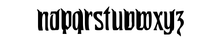Pittoresk Condensed Font LOWERCASE