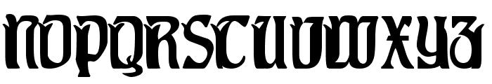 Pittoresk Font UPPERCASE