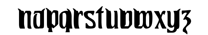 Pittoresk Font LOWERCASE