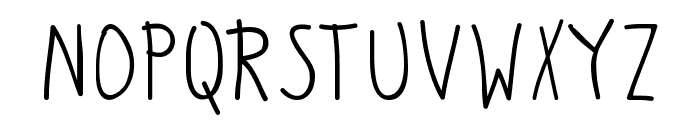 Pittorifamosi Font UPPERCASE