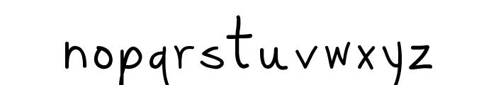 Pittorifamosi Font LOWERCASE
