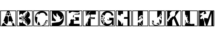 PixCaps Font UPPERCASE
