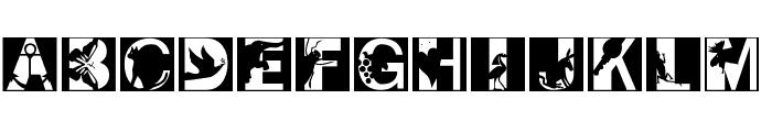 PixCaps Font LOWERCASE