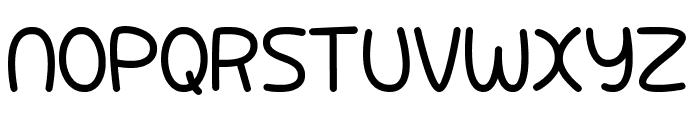 Pixabubble Font UPPERCASE