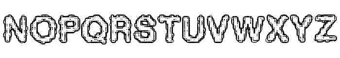 Pixel Krud [BRK] Font UPPERCASE