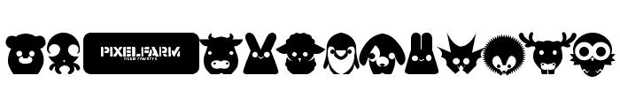 Pixelfarm Pets Font UPPERCASE
