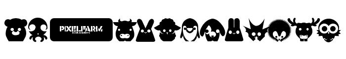 Pixelfarm Pets Font LOWERCASE