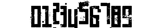 Pixelic War Font OTHER CHARS