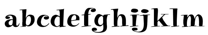 PixieOpti Font LOWERCASE