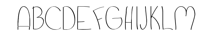 Pixie's Scribbles Font UPPERCASE