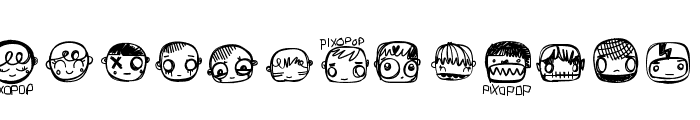 PixopopConfusion Font UPPERCASE