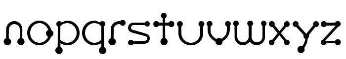 pierced  Regular Font LOWERCASE