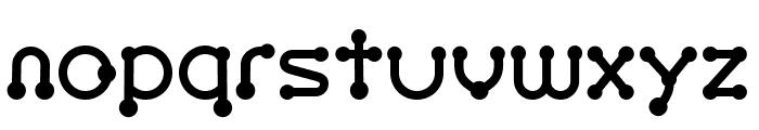 pierced  black Font LOWERCASE