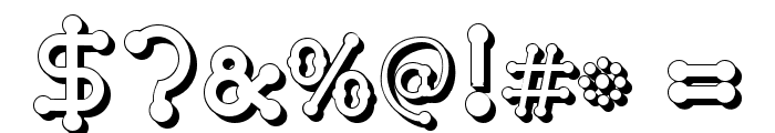 pierced  tree-d Font OTHER CHARS
