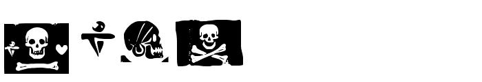 pirates pw Font LOWERCASE