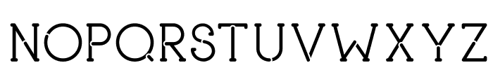 piron Font UPPERCASE