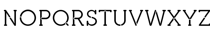 pironv2stencil Font UPPERCASE