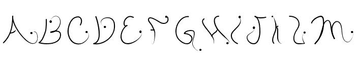 pistyl Font UPPERCASE